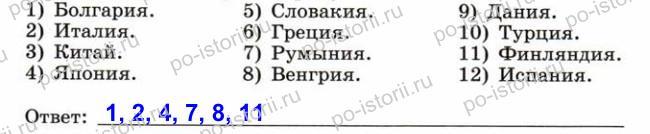 Сороко-Цюпа: Задания к § 18. Вторая мировая война. 1039-1945 гг.