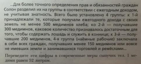 §25. Законодатели в жизни Афин